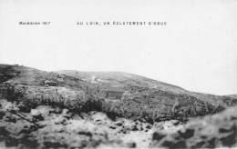 MACEDOINE 1917 - Au Loin, Un éclatement D'obus - Macédoine