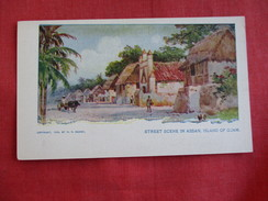 Street Scene In Assan  Island Of Guamref 2792 - Guam