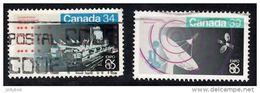 CANADA 1986 EXPO86 Set Of 2 (34c, 39c) Used - 1952-.... Reign Of Elizabeth II