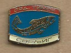 Sport Fishing Society - Timok.Svljig. Serbia Fish - Badges