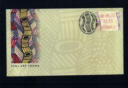Australia 1999 ATM Label FDC - Vignette Di Affrancatura (ATM/Frama)