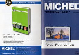Briefmarken Rundschau MICHEL 12/2017 Neu 6€ Stamps Of The World Catalogue/magacine Of Germany ISBN978-3-95402-600-5 - Deutsch (ab 1941)
