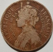 1 Franc Colonie De La Martinique 1922 - Colonies