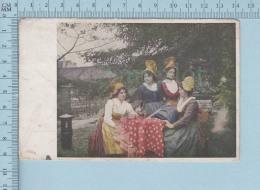 Mode  - Femmes, Deutsche Heirmat, Chapeaux Habit Epoque, A Servie En 1920  Carte Postale Postcard - Mode