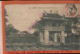 CPA  TONKIN HANOÏ  Entrée De La Pagode Du Grand Bouddha De CONFUCIUS   JANV 2018 175 - Vietnam