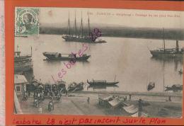 """CPA  TONKIN  HAIPHONG Passage Du Lac Pour NUI-DEO  ARRIERE   PAQUEBOT  """"TIGRE"""" ANV 2018 187 - Viêt-Nam"""