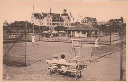 De Haan ,Le Coq Sur Mer  , Les Tenniscourts , Tennisvelden - De Haan