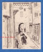 Dessin Au Crayon De Décembre 1943 Par L. Gauthier - ANNECY - Petite Horloge Rue Sainte Claire - Haute Savoie - Drawings