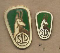 Association Of Hunting Societies Of Yugoslavia.animals.sport.2 Nice Pins - Badges