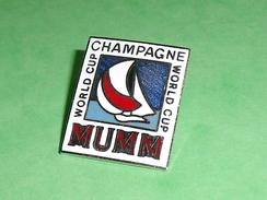 Pin's / Bateaux : Champagne , World Cup    TB2U - Boats