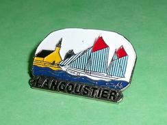 Pin's / Bateaux : Bateau , Voilier , Langoustier    TB2U - Boats