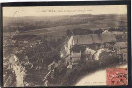 80224 . MONTDIDIER . PALAIS DE JUSTICE ET FAUBOURG ST MARTIN    (recto/verso) ANNEE 1905 .  L. VALLEE . EDIT. - Montdidier