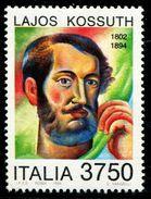 IT0953 Italy 1994 Hungarian National Hero Kossuth 1V MNH - Italy