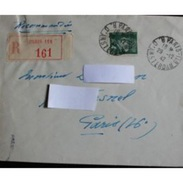 Envelope Lettre Recommandée : Paris Pour Paris, 1942 - Other