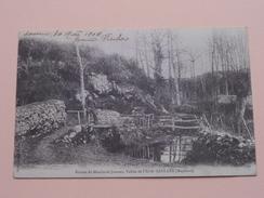 Ruines Du MOULIN Du JUMEAU, Vallée De L'Erve - SAULGES ( Hamel... ) Anno 1904 ( Voir Photo Svp ) ! - France