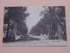 Avenue FOCH ( Detriché ) Anno 1929 ( Voir Photo Svp ) ! - Tharon-Plage
