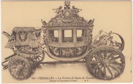 Versailles - La Voiture Du Sacre De Charles X - Coronation Coach  (Kutsche/Carosse/Koets) - Busse & Reisebusse