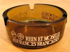 CENDRIER RHIN ET MOSELLE ASSURANCES FRANCAISES - Ashtrays