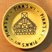 CENDRIER PIMM'S N° 1 / GIEN FRANCE - Ashtrays