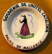CENDRIER SOUVENIR DE L'HOTEL CATALONIA PALMA DE MALLORCA - Ashtrays