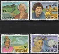 Dominica 1982 Yvertn° 733-736  *** MNH Cote 42 FF - Dominique (1978-...)