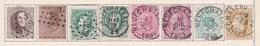 Belgique COB 14 19 30(x2) 38 46 45 32 Oblitérés Neufchateau - Belgique