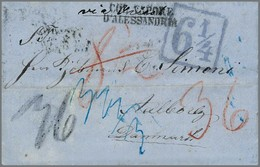 11 Ägypten-Dänemark - Stamps