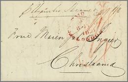 43 Schiffsbriefpost Hamburg - America (Other)