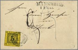 112 3 Kr. Schw./dunkelgelb - Germany