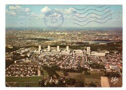 Dept 33,Gironde,Cpm Cenon,Vue Générale Du Haut-Cenon Et,la Cité Palmer,au Fond Le Port Sur La Garonne - Other Municipalities