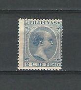 VARIÉTÉS N° 140 FILIPINAS 2 C. DE PESO NEUF ** GOMME - Philippinen