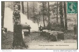 76 SAINT SAENS / Une Charbonnière, Forêt De Saint-Saëns / - Saint Saens