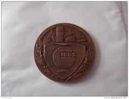 MEDAILLE PUBLICITE.GIBBS  .BRONZE VERS 1930 .5 CM GRAVEUR FRAISSE - Advertising