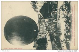55 STENAY / La Fête Du Stenay Du 19 Août 1906, Sur La PLace D'Armes, Ascension D'un Ballon / - Stenay