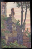 ASIE - CAMBODGE - ANGKOR - Escalier De Pré-Rup - Illustrateur - Cambodja