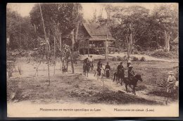 ASIE - LAOS - Missionnaires En Tournée Apostolique Au Laos - Missionaries On Circuit - Laos