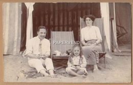 Kent BROADSTAIRS Holiday Family On The Beach RP   K3834 - Folkestone
