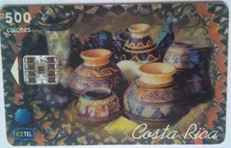 500 Colones,  Pottery (small Dent Upper Left) - Costa Rica