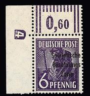 4131 6 Pfg - Soviet Zone