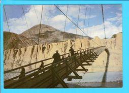 Cp  Carte  Postale  - Suspension Bridge Over A River In The Northern Regions Of Pakistan - Pakistan