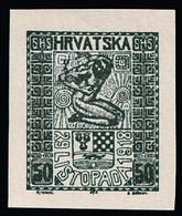 4600 50 Fil. Schwarz - Yugoslavia
