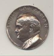 TOURNAI - TOP ! - Médaille à L'éffigie De Louis CASTERMAN - Aux Magistrats Communaux - Guerre 40/45 ( BD Tintin ) (B222) - Belgium
