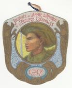 Insigne En Carton Journée De L'Armée D'Afrique Et Des Troupes Coloniales - 1917 - Other