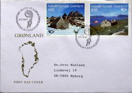 Greenland 1993 NORDEN   MiNr.234-35  FDC( Lot Ks) - FDC
