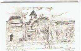 78..BEYNES -CHATEAU -   CARTE  DE YVES   DUCOURTIOUX ((SITES  ET MONUMENTS))    TTBE - Beynes