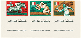 5366 Qatar, 1966, Olympiade Mexiko - Stamps