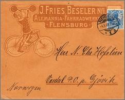 5370 Fahrrad, 1909/12 - Stamps