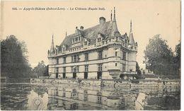 Azay-le-Rideau - Le Château (Façade Sud) - Azay-le-Rideau