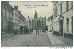 BELGIQUE MALDEGEM / Stadhuis En Markstraat / - Maldegem