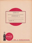 "( Protège-cahiers 2.2) Protège-cahiers / ""Coca Cola"" - Book Covers"